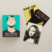 Andy Warhol Notecards, Set of 16