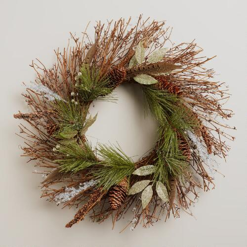 Snowy Haven Wreath
