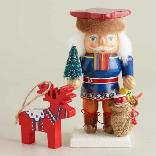 2013 Limited Edition Lapland Santa Chubby Nutcracker