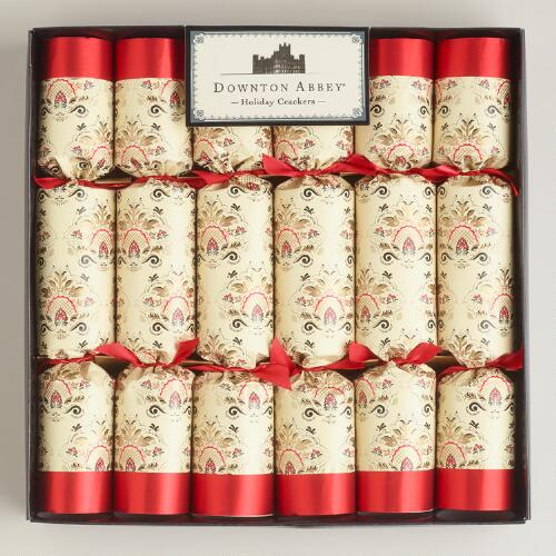 Large Downton Abbey Crackers, 6-Count