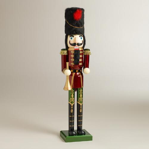 Red Traditional Nutcracker