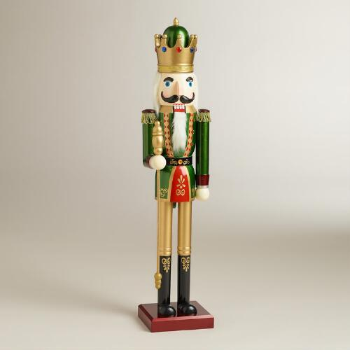 Green Traditional Nutcracker