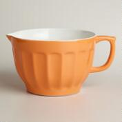 Persimmon Melamine Batter Bowl