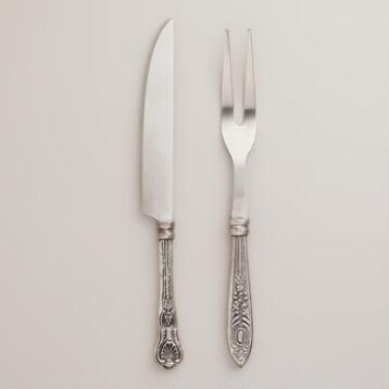 Vintage-Style Carving Set