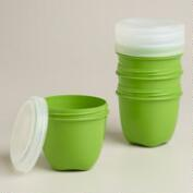 Preserve Mini Food Storage Containers, 4-Pack