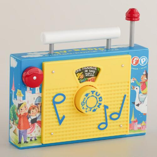 Fisher-Price TV Radio Toy
