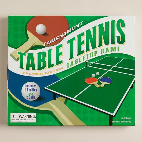 Tournament Table Tennis Game