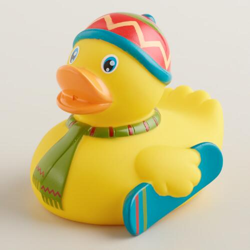 Gnarly Rubber Duck Bath Toy