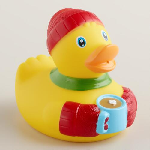 Cozy Rubber Duck Bath Toy