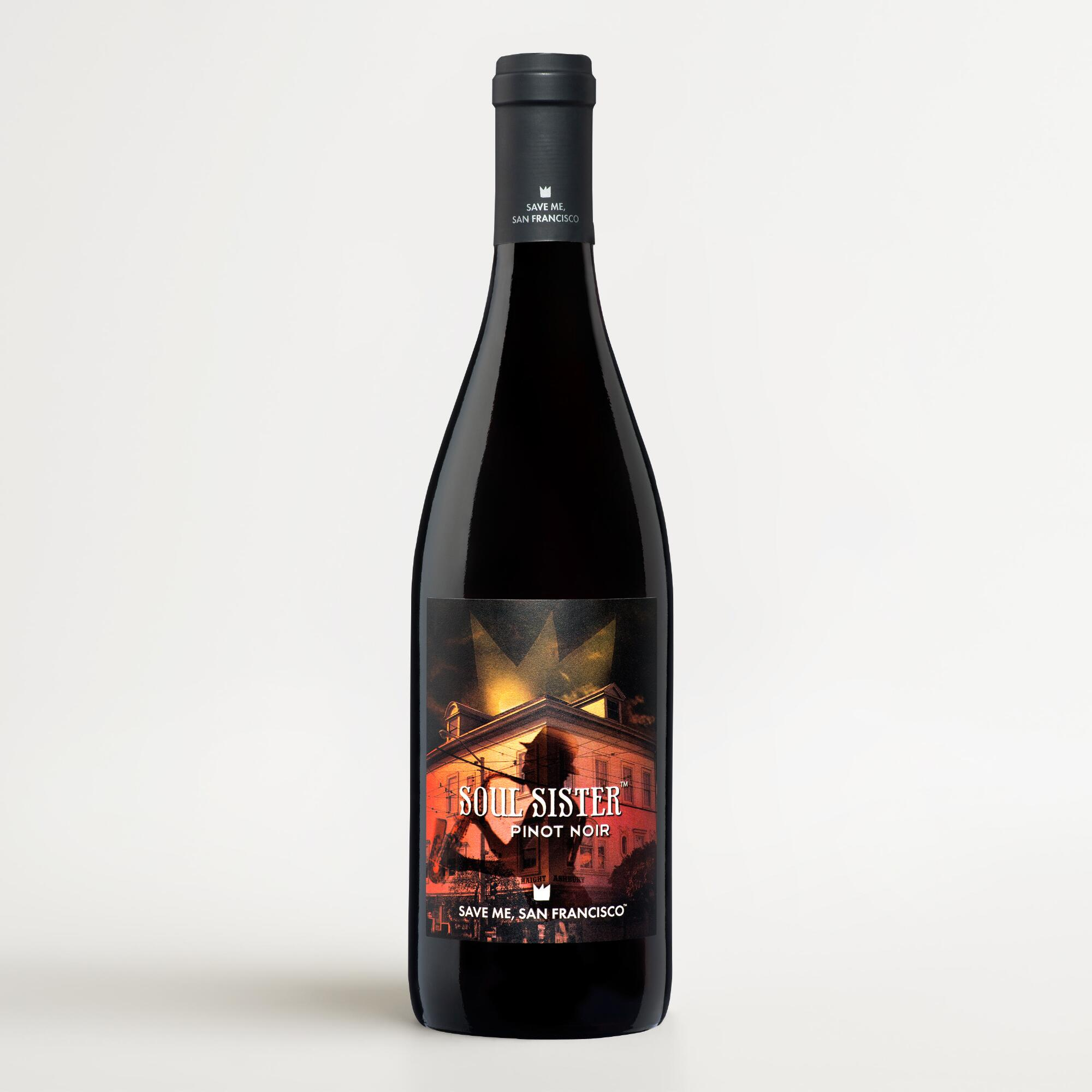 Soul sister pinot noir world market for Best pinot noir in the world