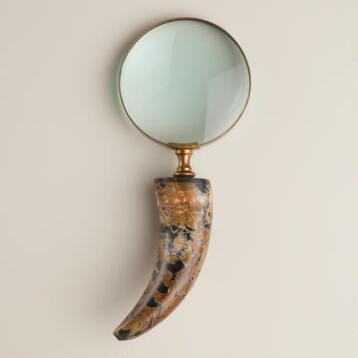 Glass Horn Magnifying Glass