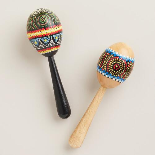 Mini Egg-Shaped Maracas