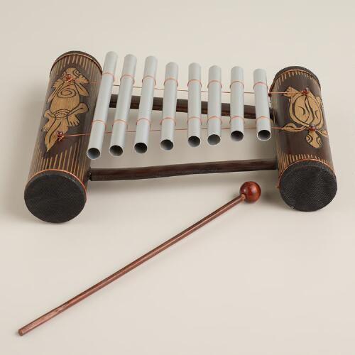 Turtle and Gecko Indonesian Gamelan Instrument