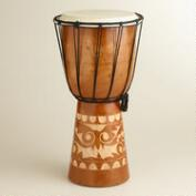 Mahogany Indonesian Drum