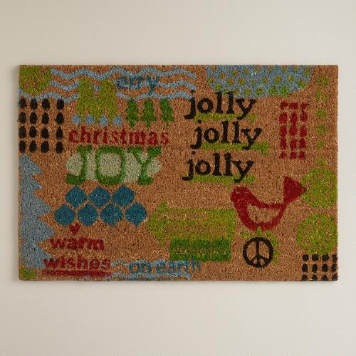 Warm Wishes Doormat