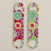 Printed Bottle Openers, Set of 2