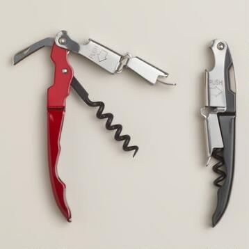 Metrokane Rabbit Zippity 2-Step Corkscrews, Set of 2