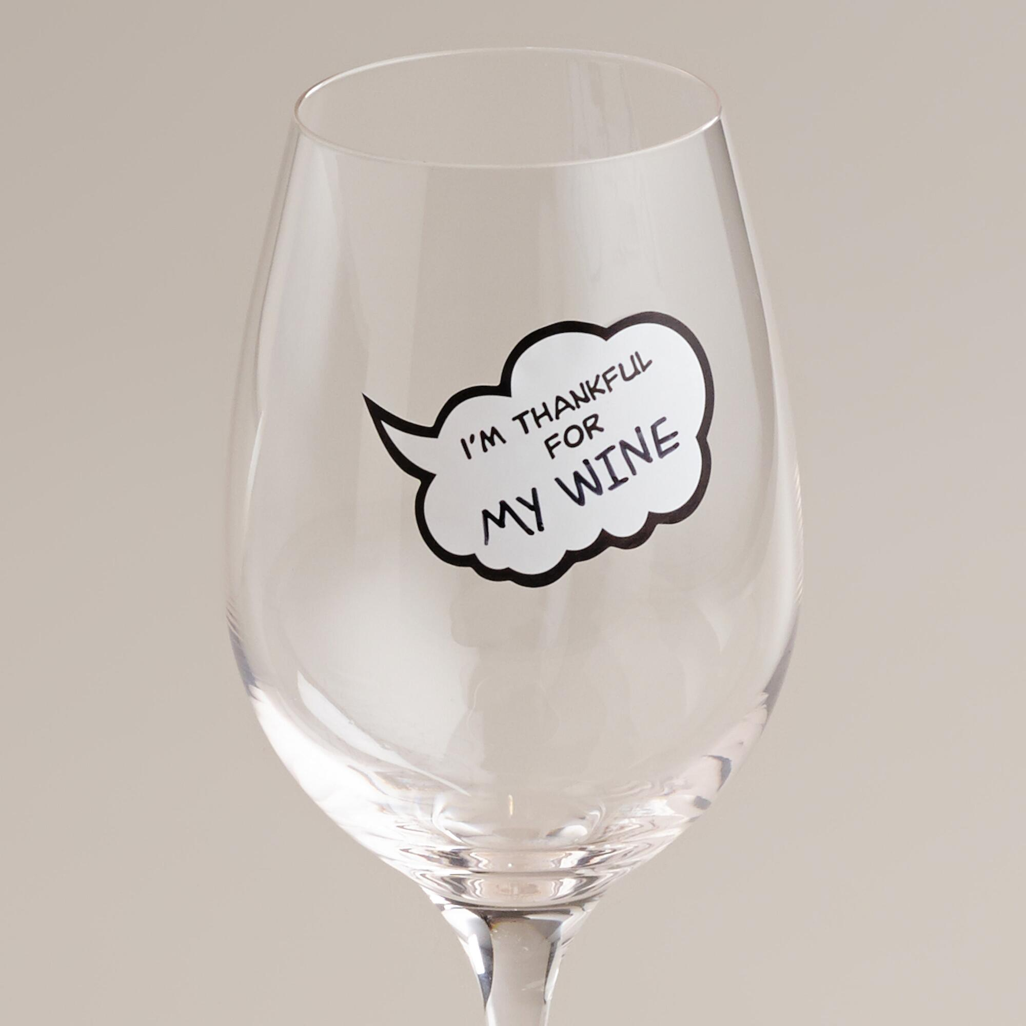 World Market Chit Chat Wine Markers