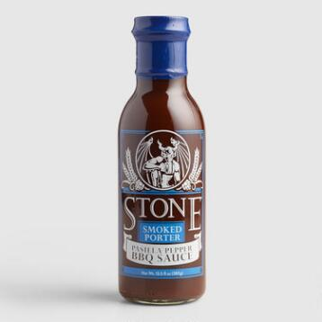 Stone Brewing Company Porter & Pasilla Pepper Barbecue Sauce