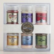 SaltWorks Salts of the World 6-Pack