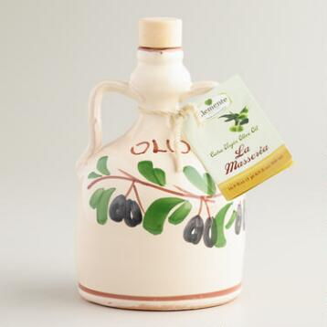 Medium Blend Extra Virgin Olive Oil, Set of 2