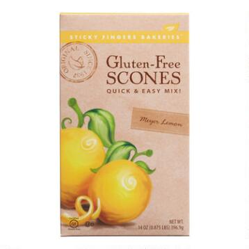 Sticky Fingers Bakeries Meyer Lemon Scone Mix, Set of 6