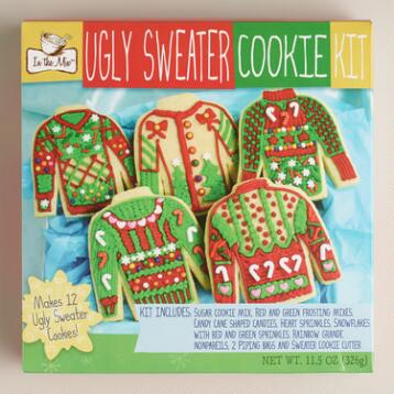 Ugly Sweater Cookie Kit, Set of 2