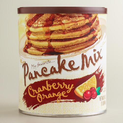 My Favorite Cranberry Orange Pancake Mix