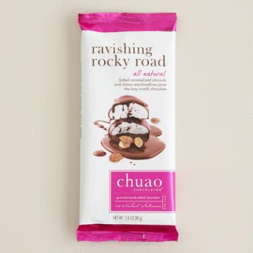 Chuao Milk Chocolate Rocky Road Bar, Set of 2