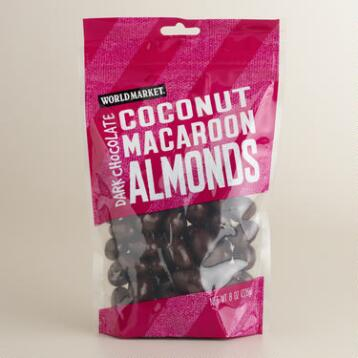 World Market® Coconut Macaroon  Almonds