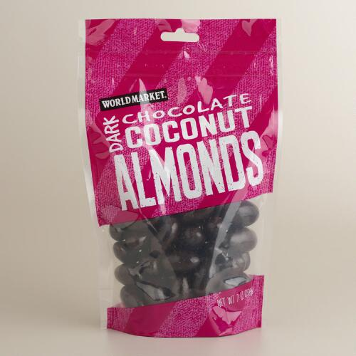 World Market® Dark Chocolate Coconut Almonds, Set of 3
