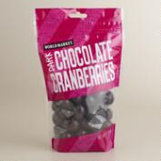World Market® Dark Chocolate  Cranberries, Set of 3