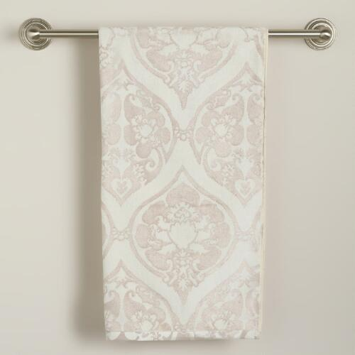 Baroque Ogee Bath Towel