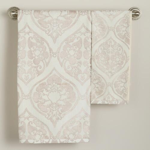 Baroque Ogee Bath Towel Collection