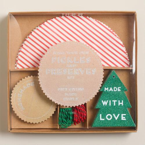 Meri Meri Candy Stripe Jarring Gift Kit