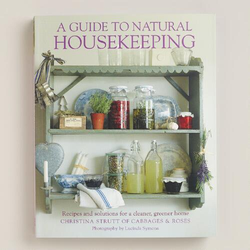 """A Guide to Natural Housekeeping"" Book"