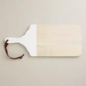 White Dipped Cutting Board