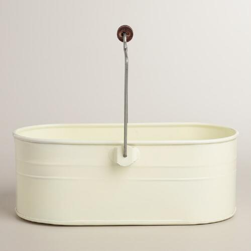 Ivory Housekeeping Utility Bucket