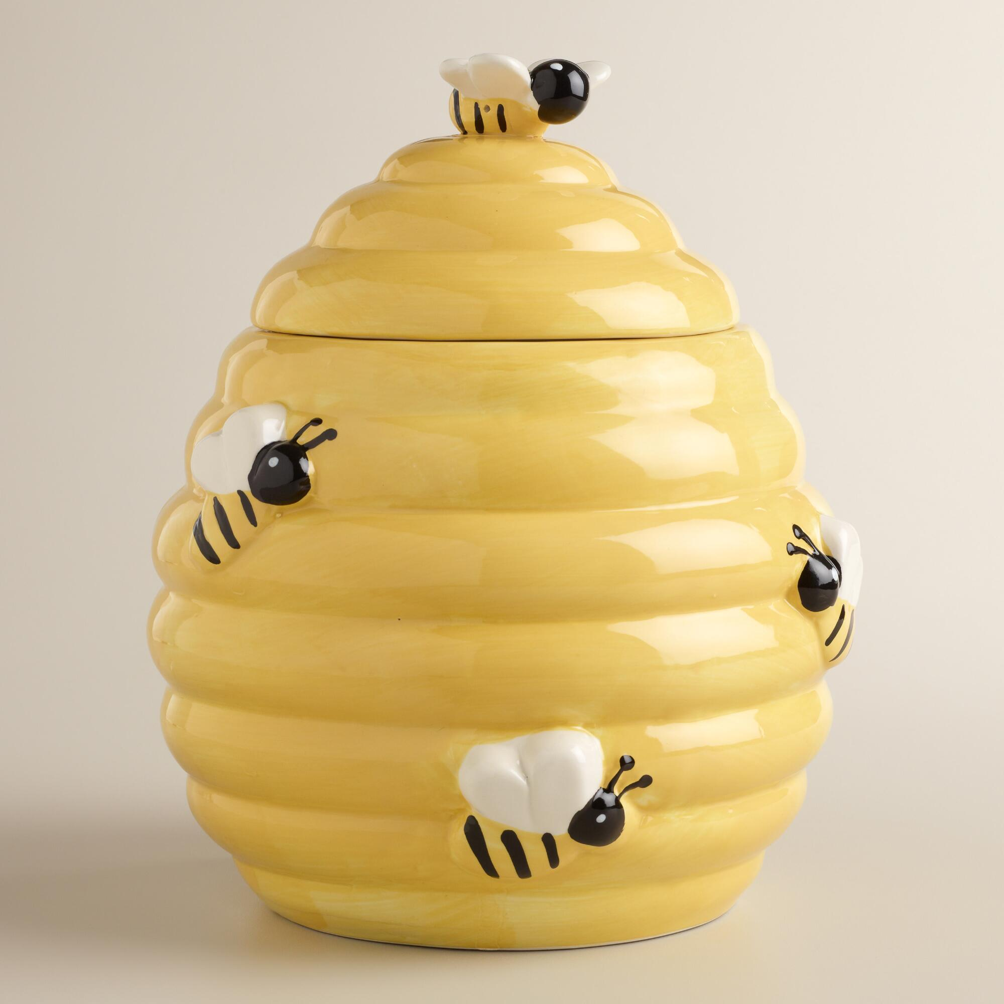 Beehive Cookie Jar World Market