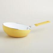 Yellow Mini Flip Frying Pan