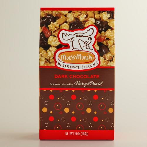 Moose Munch Dark Chocolate Caramel Popcorn