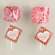 Melville Milk & White Chocolate Marshmallow Hearts, Set of 2
