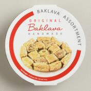 Round Baklava Assortment Tray