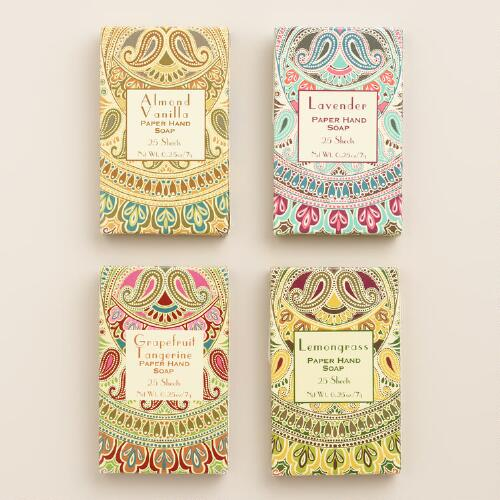 Scented Paper Soap Collection