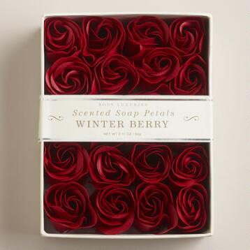 Winter Berry Soap Petals, 20-Piece