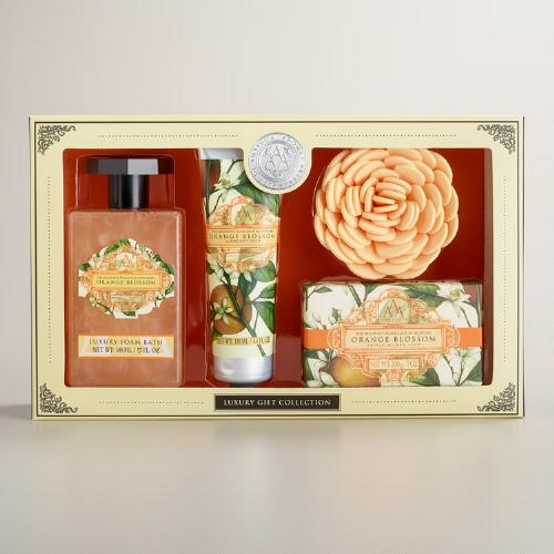 AAA Orange Blossom 4-Piece Bath and Body Gift Set
