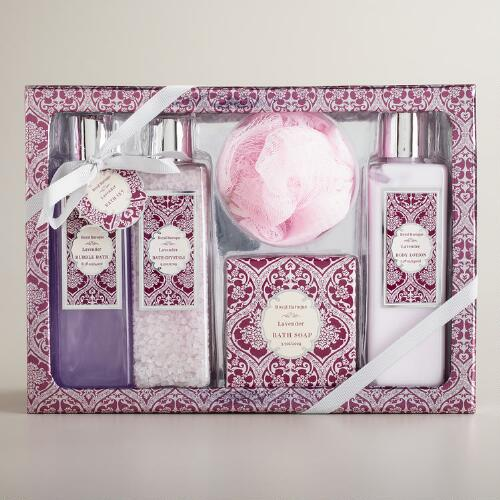 Lavender 5-Piece Bath and Body Gift Set
