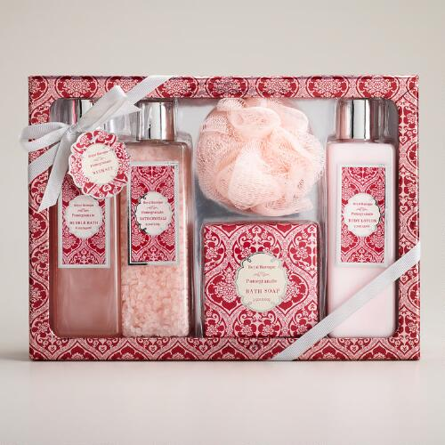 Pomegranate 5-Piece Bath and Body Gift Set