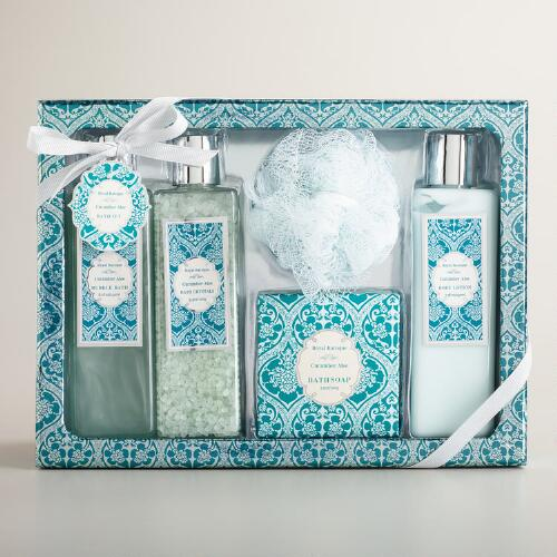 Cucumber Aloe 5-Piece Bath and Body Gift Set