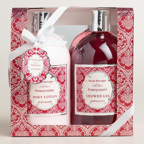 Pomegranate 2-Piece Bath and Body Gift Set